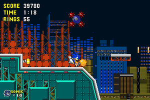 SONIC EVOLVE: Gigapolis Zone by MobileSuitSonic