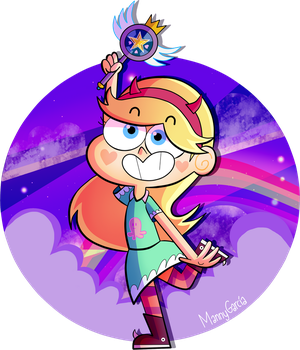 Star Butterfly by MannyG86