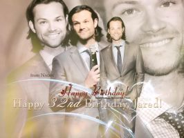 Happy 32nd Birthday, Jared! by Nadin7Angel