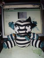 My First Plushie Commission by StitchyGirl