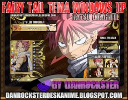 Natsu Dragneel Theme Windows XP by Danrockster