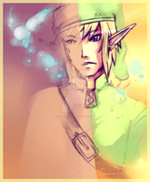 Link SPEEDDRAWPAINT by RainbowBile