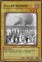Italian Soldiers card by Mexicano27