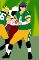 NFL Player Ike: Green Bay Packers by ssvineman