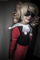 Harley Quinn - Peering From The Corner by seethroughcrew
