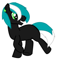 Custom Pony for - neonignition by iPandacakes