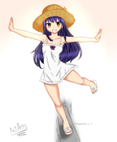 Fairy Tail Wendy Marvell Recolor + SpeedPaint by Aki-Arts