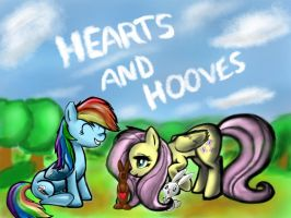 Happy Hearts and Hooves Day! ~ FlutterDash by MrUnforgettable