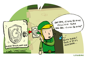 The Legend of Link Part 05 by Loweak