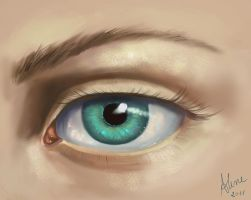 Eye Study by AlineMendes