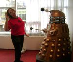 """Red Shirt... """"Exterminate"""" by TinaCaper"""