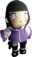 Hinata Plushie by Meip
