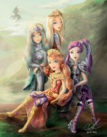 Dragon Games - Ever After High by Aayov