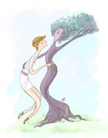 Apollo and Daphne by spicysteweddemon