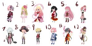 WTA/DTA Dream Selfy Adopts PINK VERY PINK: CLOSED by Sohsterian