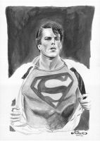 Superman by fixart