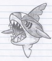 Sharpedo by JettheHawk979
