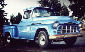 50's Chevy truck by FrancesColt