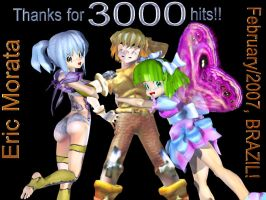 3000 hits by EricMor