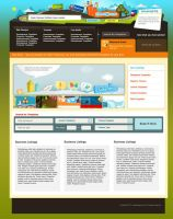 Template Shop website design by mediarays