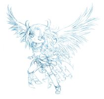 garuda... sketch by sureya