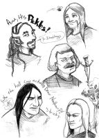 metalocalypse: the guys by tentaclees