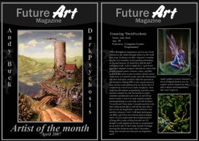 Monthly Artist - April by Future-Art-Magazine