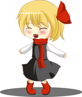 Chibi Rumia (?) by Water-horse