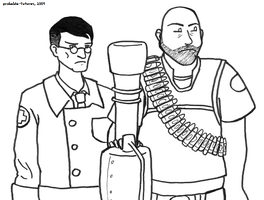 Team Fortress-ian Gothic by Probable-Futures