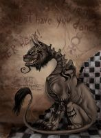 Alice Madness Returns - Cheshire Cat by fiszike