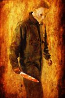 Rob Zombie's Michael Myers by DarkWazaman