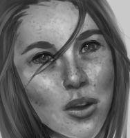 Freckled Face by hixdei-love