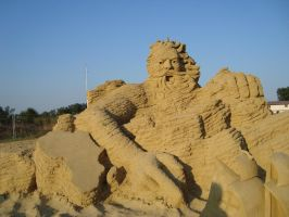 Sand art in burgas 11 by tonev