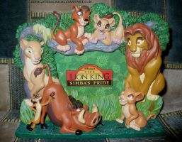 3D Lion King Picture Frame by ZiraLovesScar