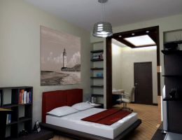 Bedroom Lighthouse Design by PIXERSIZE