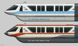 Star Tours Monorail by BJ-O23