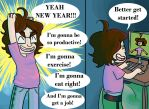 New Years Resolutions! by AnimatedGeek100