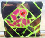 glass tile snake by jecle