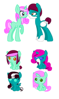 Pony Breedables CHEAP by MoBAdopts