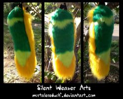 Green and Gold .:SOLD:. by MortaleRedWolf