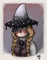 Little Witch by Maimed-Bunny