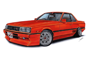 Nissan Skyline GT Turbo by vsdesign69