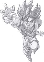 Goku by Jazzaloop