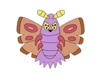Name Your Poison Collab: Shiny Dustox by Aqua-Blade