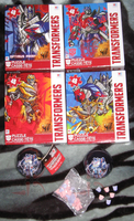 Transformers Puzzles n Ornaments by Leathurkatt-TFTiggy