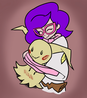 Wicke and Mimikkyu by CadetRedShirt