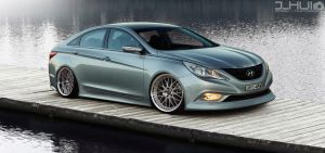 Hot4's Hyundai I45 by J-HUI
