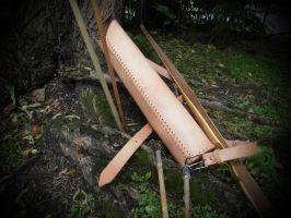 Leather quiver - second editio by Kiscien