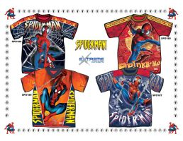 Spider-Man_Boys' Tops by junroc
