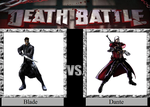 Blade vs. Dante by JasonPictures